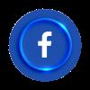 Logo Facebook 3d