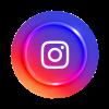 Logo Instagram 3d